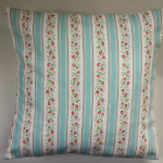 Cushion Cover in Cath Kidston Tearose Stripe 16""